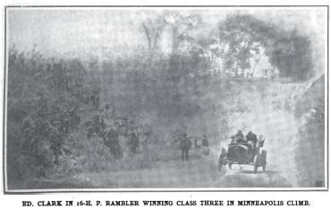 Minneapolis hillclimb 1905