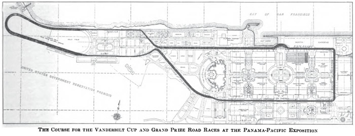 San Francisco track layout