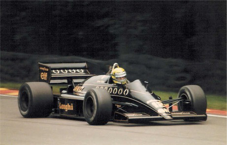 Ayrton Senna, Brands Hatch 1986