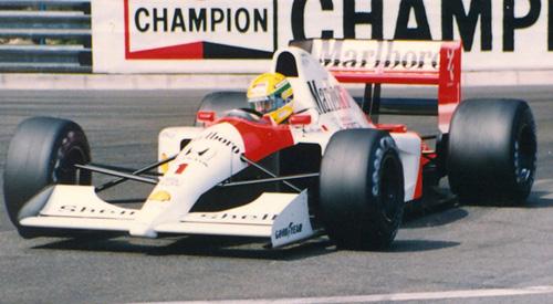 Ayrton Senna, Monaco 1991