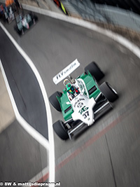 Christophe d'Ansembourg, Williams FW07C, 2019 Silverstone Classic