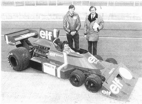 Muere Derek Gardner diseñador de Tyrrell P34-silv-pit