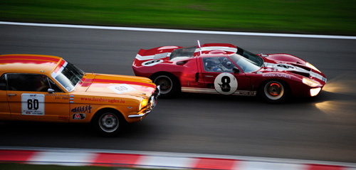 GT40, Ford Mustang