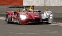 Tom Kristensen, Audi R15 TDI, 2010 Spa 1000kms practice, May 8, 2010