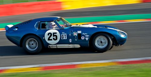 Christian Gläsel/Oliver Ellerbrock, Shelby Cobra Daytona Coupé, Masters Gentleman Drivers, 2011 Spa Six Hours