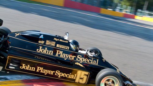 Roger Wills, Lotus 92/5, Grand Prix Masters race 1, 2011 Spa Six Hours