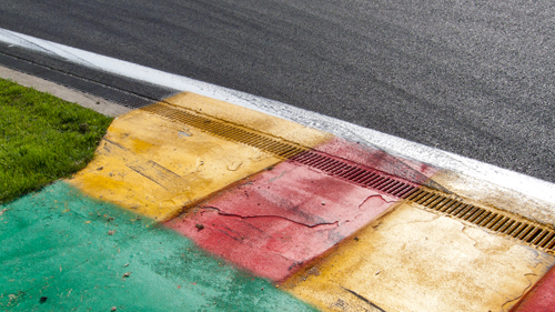 La Source kerbs, 2011 Spa Six Hours