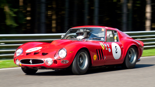 Carlo Vögele/Willie Green, Ferrari 330 GTO, 2011 Spa Six Hours