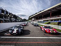 Starting grid, 2013 Spa Six Hours