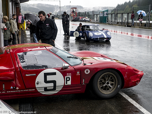 Christian Gläsel/Kenny Bräck, Ford GT40, 2014 Spa Six Hours