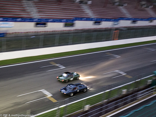 Peereboom/Izaks/Smith, MGB, Minshaw/Keen, Jaguar E-type, 2015 Spa Six Hours
