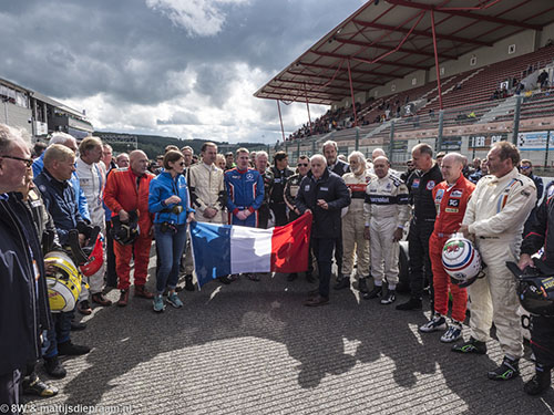 Historic Formula One memorial to David Ferrer, 2017 Spa Six Hours