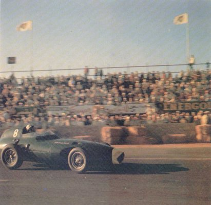 Stirling Moss, Vanwall, 1958 Moroccan GP