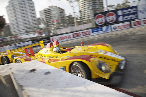 Porsche RS Spyder, Long Beach 2008
