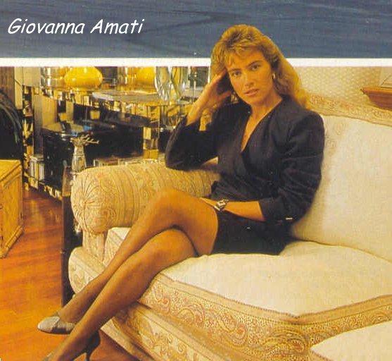 Racer Giovanna AMATI